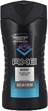 Parfémy, Parfumerie, kosmetika Sprchový gel - Axe Marine Ocean Fresh Body Wash