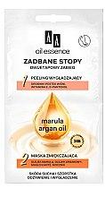 Parfémy, Parfumerie, kosmetika Dvoustupňový péče o nohy - AA Oil Essence Two-Stage Treatment