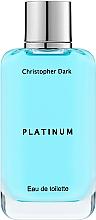 Parfémy, Parfumerie, kosmetika Christopher Dark Platinum - Toaletní voda