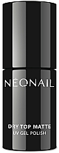 Parfémy, Parfumerie, kosmetika Vrchní lak s matným efektem - NeoNail Professional Dry Top Matte
