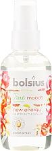 """Parfémy, Parfumerie, kosmetika Aromatický sprej """"Grapefruit a zázvor"""" - Bolsius Room Spray True Moods New Energy"""
