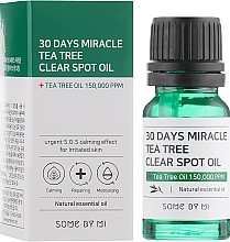 Parfémy, Parfumerie, kosmetika Olej na obličej - Some By Mi 30 Days Miracle Tea Tree Clear Spot Oil