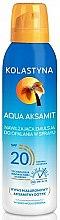 Parfémy, Parfumerie, kosmetika Hydratační sprej na opalování - Kolastyna Aqua Aksamit SPF 20