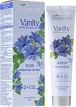 "Parfémy, Parfumerie, kosmetika Depilační krém ""Hibiscus"" - Bielenda Vanity Soft Touch Hibiscus"