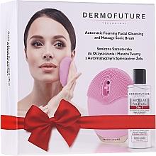Parfémy, Parfumerie, kosmetika Sada - DermoFuture (f/brush/1pcs + miccel/150ml)