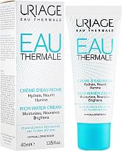 Parfémy, Parfumerie, kosmetika Obohacený hydratační krém - Uriage Eau Thermale Rich Water Cream