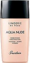 Parfémy, Parfumerie, kosmetika Tónovací fluid s hydratačním účinkem - Guerlain Lingerie de Peau Aqua Nude