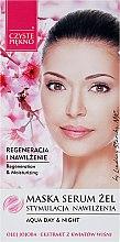 Parfémy, Parfumerie, kosmetika Maska-sérum na obličej s extraktem ze květu višně - Czyste Piekno Face Mask Serum Gel