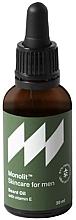 Parfémy, Parfumerie, kosmetika Olej na vousy s vitamínem E - Monolit Skincare For Men Beard Oil With Vitamin E