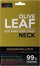 Parfémy, Parfumerie, kosmetika Expresní maska na krk - Beauty Face IST Booster Neck Mask Olive Leaf