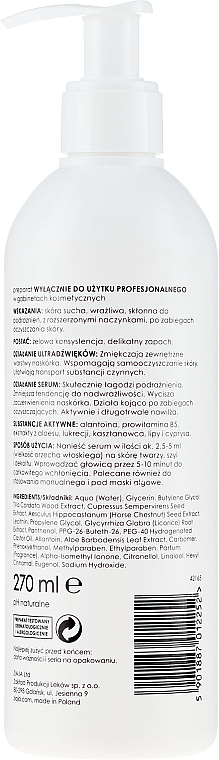 Zklidňující sérum s allantoinem a provitamínem B5 - Ziaja Pro Soothing Serum with Allantoin and Provitamin B5 — foto N2