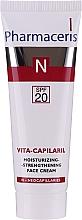 Parfémy, Parfumerie, kosmetika Hydratační krém se zpevňujícím efektem na obličej - Pharmaceris N Vita Capilaril Moisturizing-Strengthening Face Cream SPF20