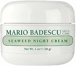 Parfémy, Parfumerie, kosmetika Noční krém s extrakty z mořských řas - Mario Badescu Seaweed Night Cream