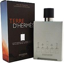 Hermes Terre d'Hermes Refillable Metal Natural Spray - Toaletní voda (výměnný blok) — foto N1