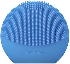 Parfémy, Parfumerie, kosmetika Čisticí smart -kartáček na obličej - Foreo Luna Fofo Smart Facial Cleansing Brush Aquamarine