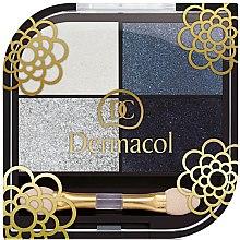 Parfémy, Parfumerie, kosmetika Oční stíny - Dermacol Quattro