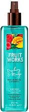 Parfémy, Parfumerie, kosmetika Tělový sprej Raspberry & Mango - Grace Cole Fruit Works Raspberry & Mango Body Mist
