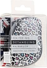 Parfémy, Parfumerie, kosmetika Kartáč na vlasy - Tangle Teezer Compact Styler Punk Leopard