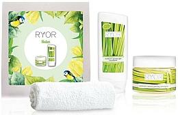 Parfémy, Parfumerie, kosmetika Sada - Ryor Cosmetic Set For Men (sh/gel/200ml+peel/325ml+towel)