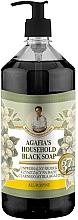 Parfémy, Parfumerie, kosmetika Černé mýdlo - Recepty babičky Agafyy Byliny a Sbory