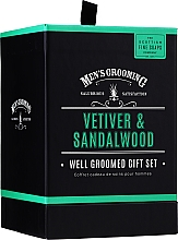 Parfémy, Parfumerie, kosmetika Scottish Fine Soaps Men's Grooming Vetiver & Sandalwood - Sada (edt/50ml + sh/gel/75ml + ash/balm/75ml)