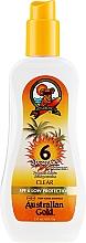Parfémy, Parfumerie, kosmetika Opalovací gel ve spreji - Australian Gold Body Spray Gel SPF6