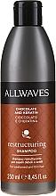 Parfémy, Parfumerie, kosmetika Šampon na vlasy Čokoláda a keratin - Allwaves Chocolate And Ceratine Restructuring Shampoo