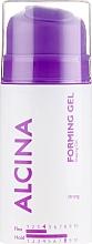Parfémy, Parfumerie, kosmetika Stylingový gel na vlasy se silným fixačním efektem - Alcina Strong Forming Gel