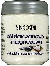 Parfémy, Parfumerie, kosmetika Sůl do koupele - BingoSpa Salt And Magnesium Sulphate