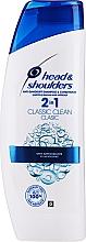 Parfémy, Parfumerie, kosmetika Šampon na vlasy - Head & Shoulders Clasic Clean 2in1 Shampoo