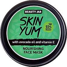Parfémy, Parfumerie, kosmetika Výživná maska na obličej - Beauty Jar Skin Yum Nourishing Face Mask