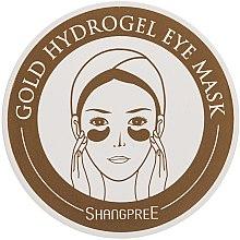 Parfémy, Parfumerie, kosmetika Hydrogelová oční maska - Shangpree Gold Hydrogel Eye Mask