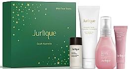 Parfémy, Parfumerie, kosmetika Sada - Jurlique Mini Face Treats Set (essence/10ml + f/foam/20g + f/mist/30ml + f/ser/5ml)