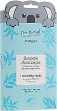 Parfémy, Parfumerie, kosmetika Exfoliační maska-ponozky na nohy - Marion Dr Koala Exfoliating Socks