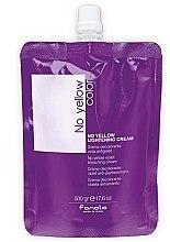 Parfémy, Parfumerie, kosmetika Zesvětlující krém na vlasy - Fanola No Yellow Violet Bleaching Cream