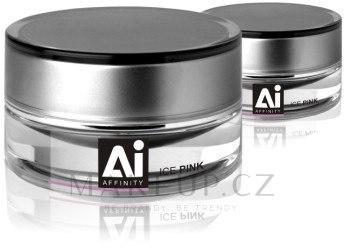 Jednofázový modelovací UV gel - Silcare Affinity Gel — foto Ice Pink