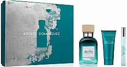 Parfémy, Parfumerie, kosmetika Adolfo Dominguez Agua Fresca Citrus Cedro - Sada (edt/120ml + sh/gel/75ml + edt/10ml)
