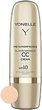 Parfémy, Parfumerie, kosmetika CC krém proti vráskám SPF 10 - Yonelle Metamorphosis D3 Anti Wrinkle CC Cream SPF10
