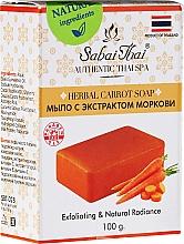 Parfémy, Parfumerie, kosmetika Mýdlo s extraktem z mrkve - Sabai Thai Herbal Carrot Soap