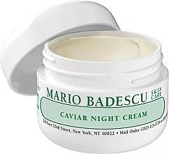 Parfémy, Parfumerie, kosmetika Noční pleťový krém s kaviárem - Mario Badescu Caviar Night Cream