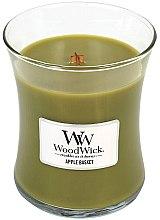 Parfémy, Parfumerie, kosmetika Vonná svíčka ve skle - WoodWick Hourglass Candle Apple Basket