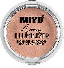 Parfémy, Parfumerie, kosmetika Pudr-rozjasňovač - Miyo Illuminizer Highlighting Powder