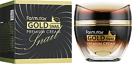 Parfémy, Parfumerie, kosmetika Krém se zlatem a hlemýždím mucinem - FarmStay Gold Snail Premium Cream