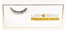 Parfémy, Parfumerie, kosmetika Umělé řasy - Lash Brown Premium Silk Lashes Lashes No Lashes
