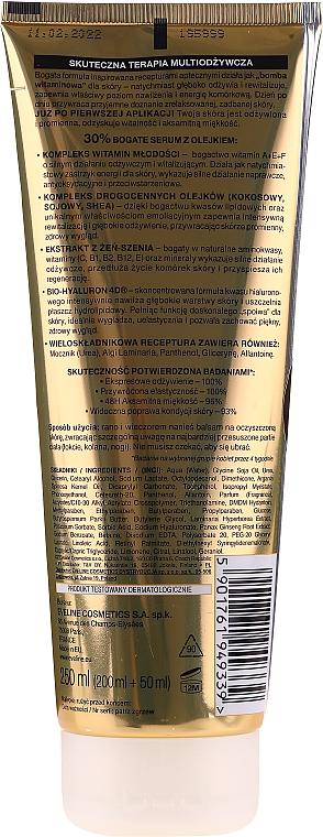 Vícesložkové tělové mléko - Eveline Cosmetics Ekspert Lotion — foto N2