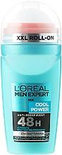 Parfémy, Parfumerie, kosmetika Kuličkový deodorant - L'Oreal Paris Men Expert Cool Power Deodorant Roll-on