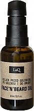 Parfémy, Parfumerie, kosmetika Olej před holením, po holení a na vousy - LaQ Face'n'Beard Oil
