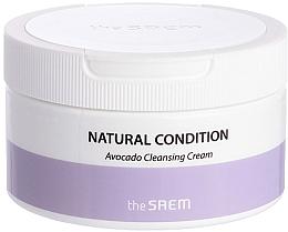 Parfémy, Parfumerie, kosmetika Čisticí pleťový krém s avokádo - The Saem Natural Condition Avocado Cleansing Cream