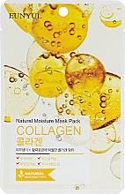 Parfémy, Parfumerie, kosmetika Hydratační látková pleťová maska s kolagenem - Eunyul Natural Moisture Mask Pack Collagen