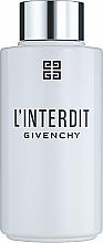 Parfémy, Parfumerie, kosmetika Givenchy L'Interdit - Olej pro vanu a sprchu